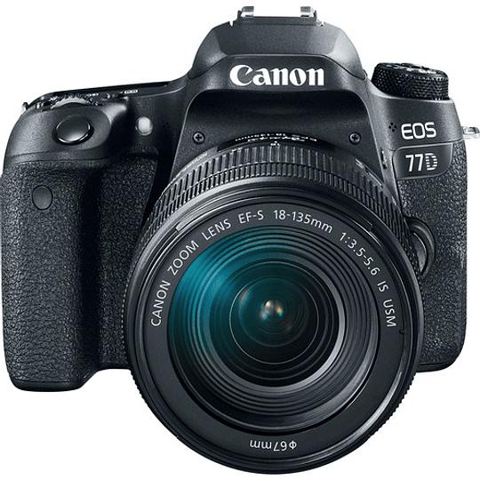 Canon EOS 77D DSLR Cámara con Lente 18-135mm USM - Image 2