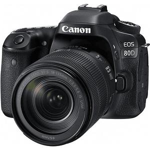 Canon EOS 80D Cámara con lente 18-135mm