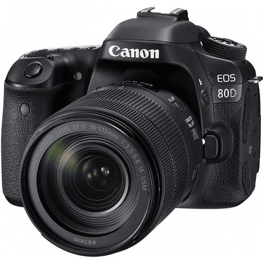 Canon EOS 80D Cámara con lente 18-135mm - Image 1