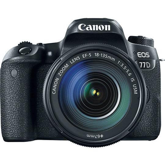 Canon EOS 77D DSLR Cámara con Lente 18-135mm USM - Image 3