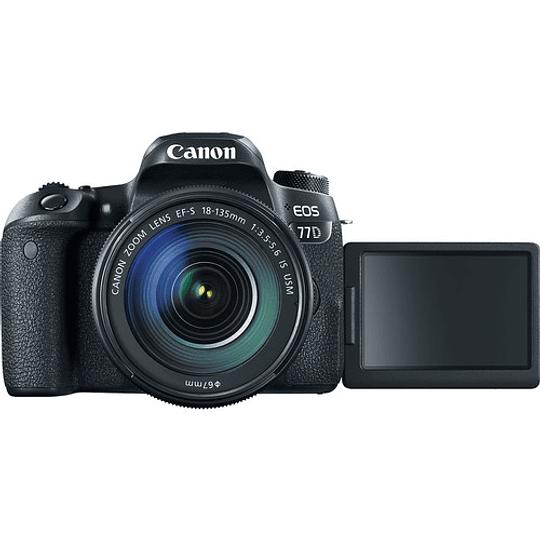 Canon EOS 77D DSLR Cámara con Lente 18-135mm USM - Image 4