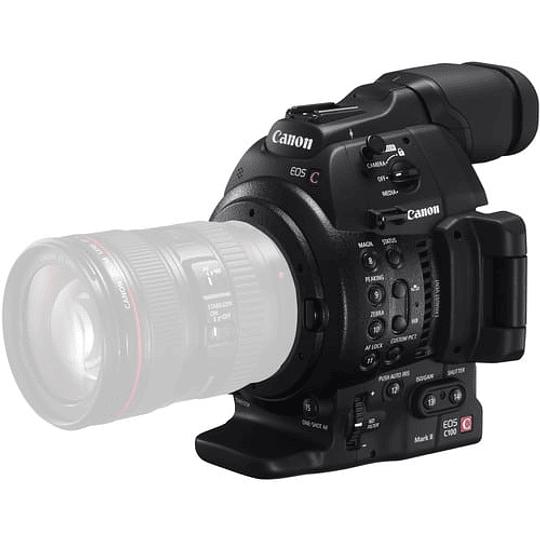 Canon EOS C100 Mark II Cinema Cámara EOS con Dual Pixel CMOS AF (solo cuerpo) - Image 4