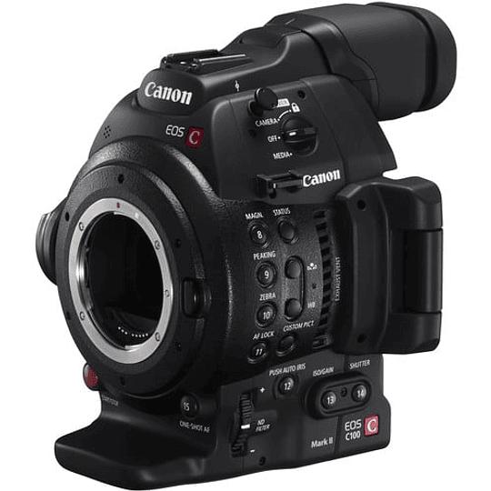 Canon EOS C100 Mark II Cinema Cámara EOS con Dual Pixel CMOS AF (solo cuerpo) - Image 5