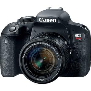 Canon EOS Rebel T7i DSLR Kit Cámara con Lente 18-55mm