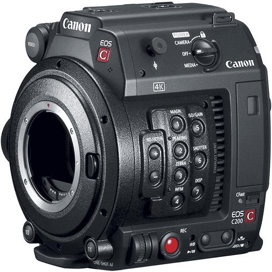 Canon EOS C200B Cámara de Cine Montaje EF 4K (Sólo cuerpo) - Image 7