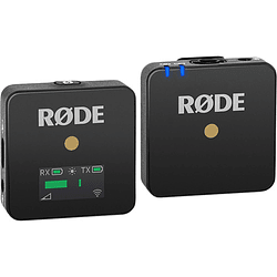 Rode Wireless GO Sistema de Micrófono Inalámbrico Digital Compacto (2,4 GHz)