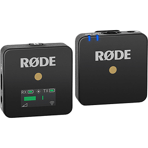 Rode Wireless GO Sistema de Micrófono Inalámbrico Digital Compacto (2,4 GHz)