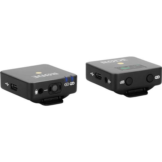 Rode Wireless GO Sistema de Micrófono Inalámbrico Digital Compacto (2,4 GHz) - Image 2