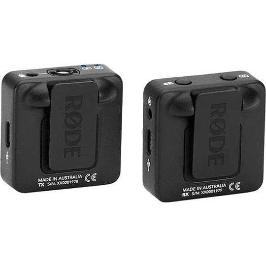 Rode Wireless GO Sistema de Micrófono Inalámbrico Digital Compacto (2,4 GHz) - Image 3
