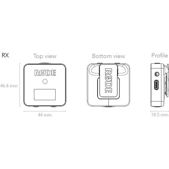 Rode Wireless GO Sistema de Micrófono Inalámbrico Digital Compacto (2,4 GHz) - Image 9