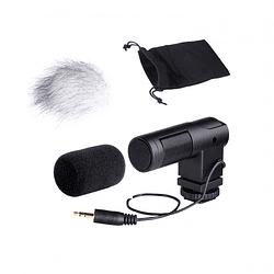 Boya BY-V01 Mini Micrófono Stereo Condensador