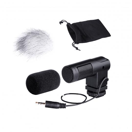 Boya BY-V01 Mini Micrófono Stereo Condensador - Image 1