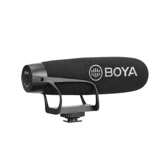 BOYA BY-BM2021 Micrófono Super Cardioide con Suspensión para Cámaras y Smartphone - Image 1