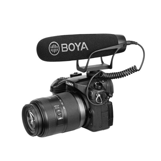 BOYA BY-BM2021 Micrófono Super Cardioide con Suspensión para Cámaras y Smartphone - Image 2