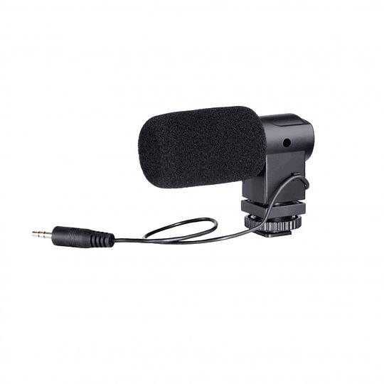Boya BY-V01 Mini Micrófono Stereo Condensador - Image 4