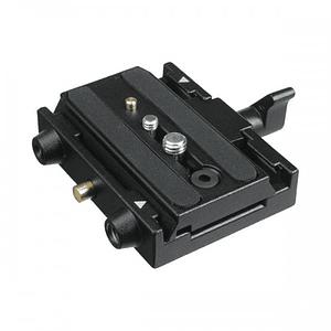 Receptor de galleta o Plato Largo /  Manfrotto 577 Para Quick Release 501PL