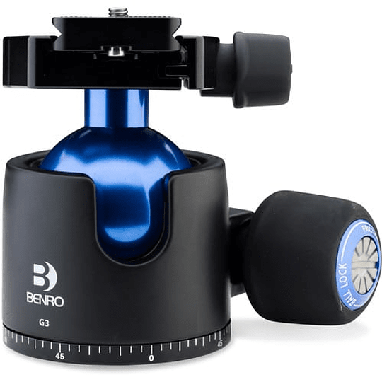Cabezal Benro G3 Triple Action Ball Head (Capac. 55kg) - Image 1