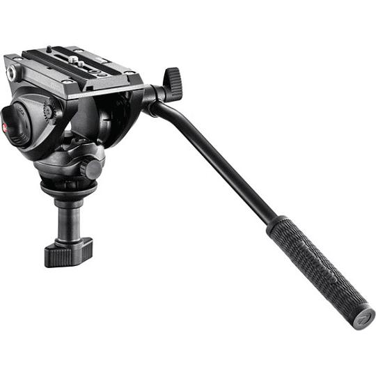 Manfrotto MVH500A Cabezal de Vídeo Fluido Con Bocha 60mm. - Image 1