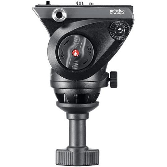 Manfrotto MVH500A Cabezal de Vídeo Fluido Con Bocha 60mm. - Image 3