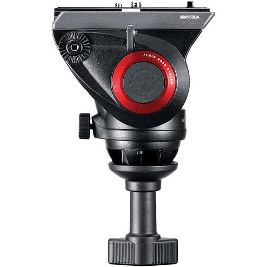 Manfrotto MVH500A Cabezal de Vídeo Fluido Con Bocha 60mm. - Image 5