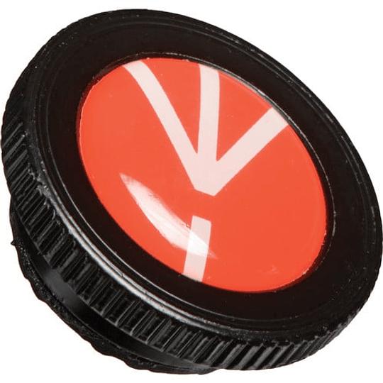 Galleta Placa Manfrotto ROUND-PL para trípode Compact Action - Image 1