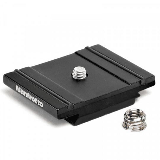Manfrotto 200PL-PRO Placa de Aluminio RC2 Compatible con Arca-Swiss - Image 1