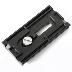 Quick Release Placa, plato o galleta para cabezal de vídeo Benro QR25