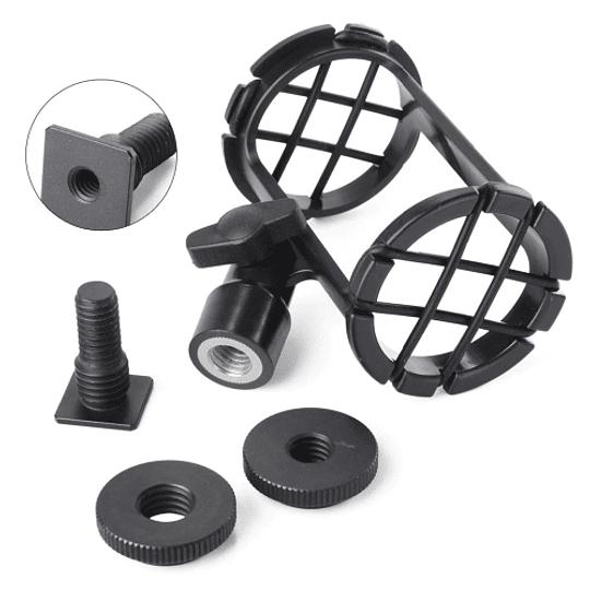 BOYA BY-C04 Montura para micrófonos en Cámara y Cañas - Image 2