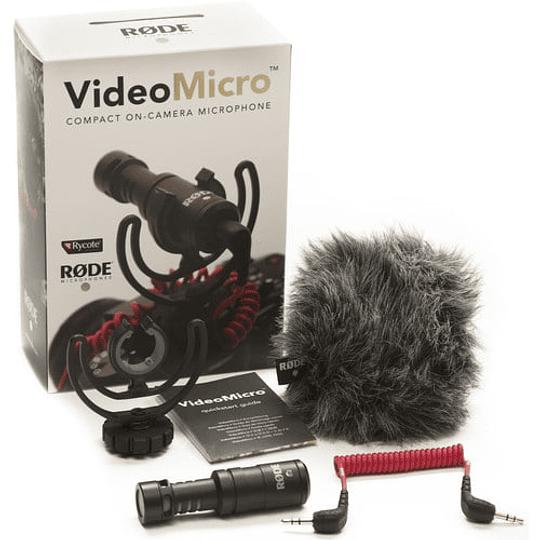 Rode VideoMicro Micrófono Compacto Direccional - Image 3