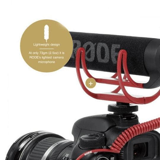 Rode VideoMic GO Micrófono Compacto Direccional - Image 2