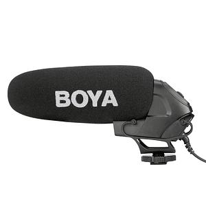 BOYA BY-BM3030 Micrófono Shotgun Supercardioide para Cámaras