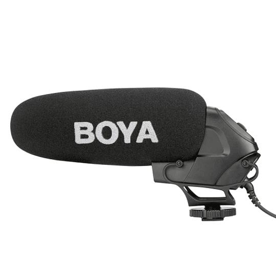 BOYA BY-BM3030 Micrófono Shotgun Supercardioide para Cámaras - Image 1