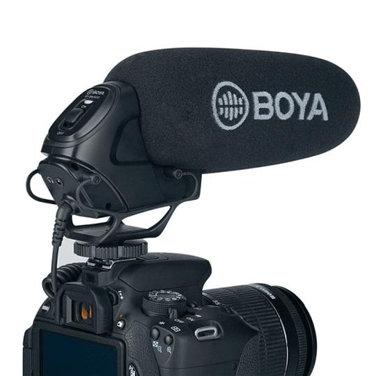 BOYA BY-BM3030 Micrófono Shotgun Supercardioide para Cámaras - Image 2