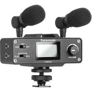 Saramonic CaMixer Kit Micrófono Condensador Estéreo