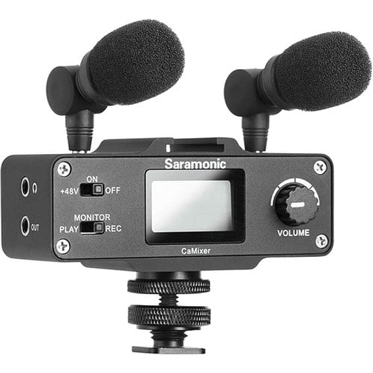 Saramonic CaMixer Kit Micrófono Condensador Estéreo - Image 1