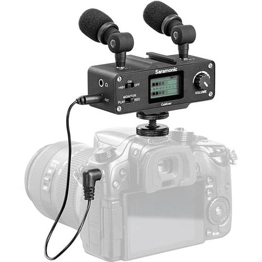 Saramonic CaMixer Kit Micrófono Condensador Estéreo - Image 4