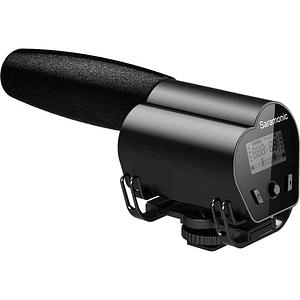 Saramonic VMIC RECORDER Micrófono con Monitor LCD para Cámaras DSLR / Videocámaras