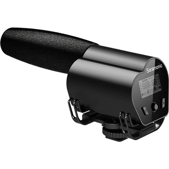 Saramonic VMIC RECORDER Micrófono con Monitor LCD para Cámaras DSLR / Videocámaras - Image 1