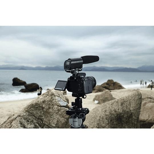 Saramonic VMIC RECORDER Micrófono con Monitor LCD para Cámaras DSLR / Videocámaras - Image 3