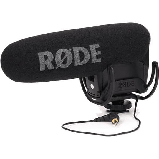 Rode VideoMic Pro R Micrófono Direccional con Sistema Rycote Shockmount - Image 1