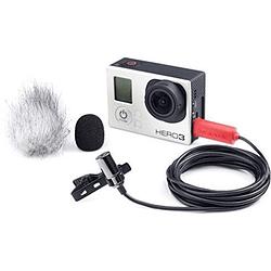 Saramonic SR-GMX1 Micrófono de solapa USB para GoPro