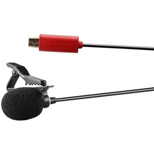 Saramonic SR-GMX1 Micrófono de solapa USB para GoPro - Image 2