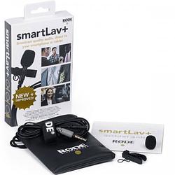 Rode SmartLav+ (Plus) Micrófono Lavalier Compatible con Smartphones