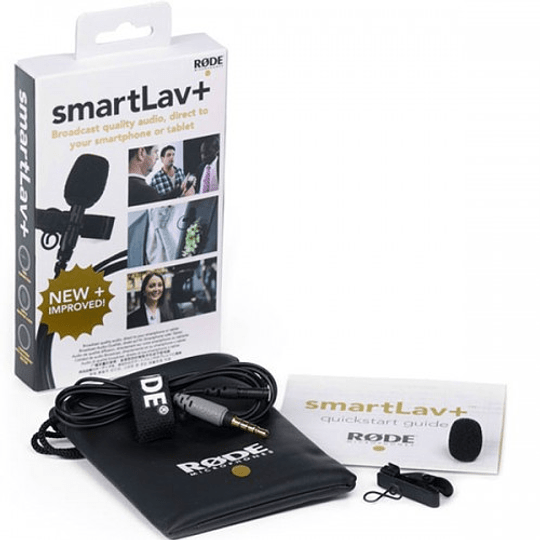 Rode SmartLav+ (Plus) Micrófono Lavalier Compatible con Smartphones - Image 1