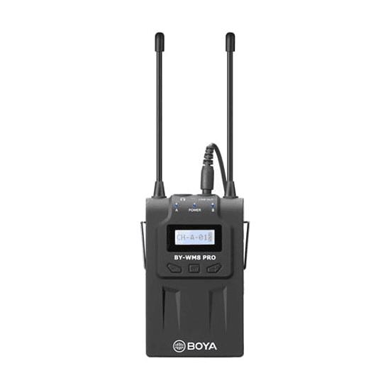 BOYA BY-RX8 Pro Receptor para Micrófonos Inalámbricos - Image 1