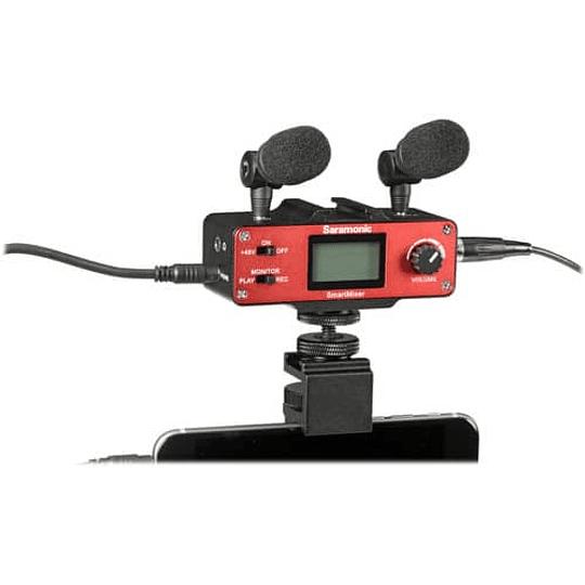 Saramonic SmartMixer kit Microfonos para Iphone y Android - Image 3