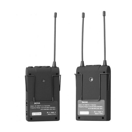 BOYA BY-WM8 Pro-K1 Sistema Micrófono Inalámbrico UHF (Transmisor-Receptor) - Image 2
