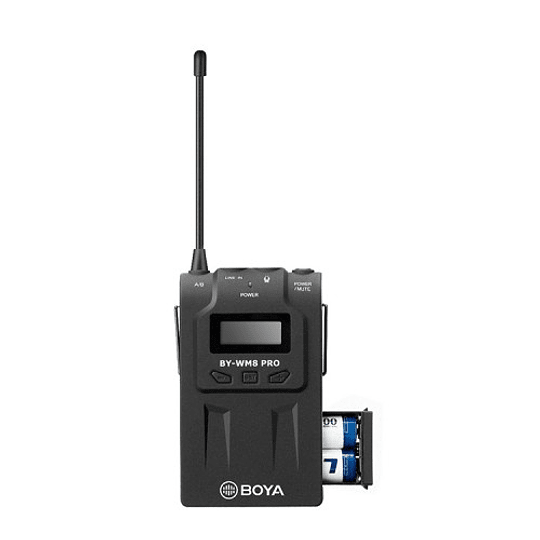 BOYA BY-WM8 Pro-K1 Sistema Micrófono Inalámbrico UHF (Transmisor-Receptor) - Image 3