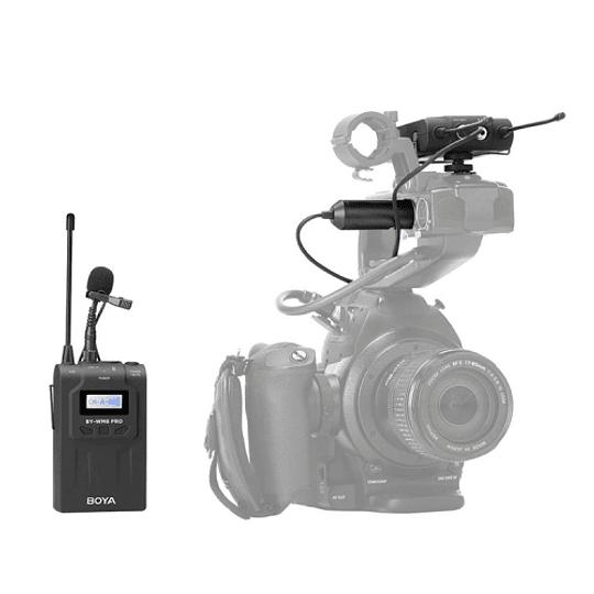 BOYA BY-WM8 Pro-K1 Sistema Micrófono Inalámbrico UHF (Transmisor-Receptor) - Image 6