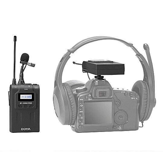 BOYA BY-WM8 Pro-K1 Sistema Micrófono Inalámbrico UHF (Transmisor-Receptor) - Image 8